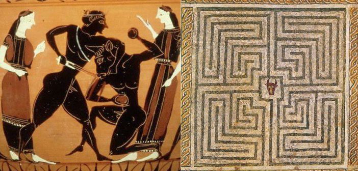 Dedalo e Pasifae, la seduzione del Minotauro cretese e il labirinto dell'architetto ateniese