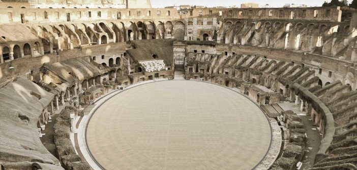 La gaffe di Draghi con Franceschini sull'Arena Colosseo: «Non dar retta agli archeologi»