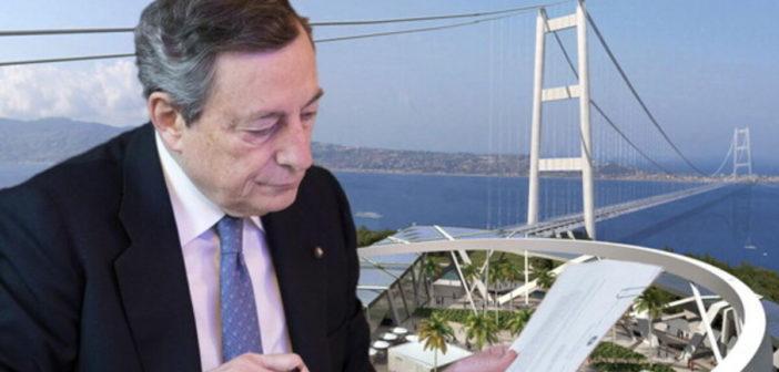 Governo Draghi: il miraggio del Ponte sullo Stretto e la finzione del dibattito pubblico